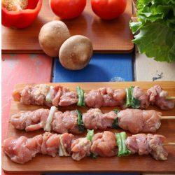 大份量香蔥雞腿肉串 1尺