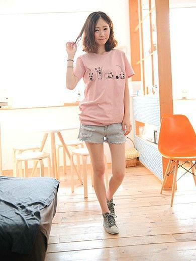 2013韓版 夏裝新款寬鬆休閒短袖t卹夏季新品上衣潮