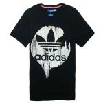 2013新款 正品阿迪達斯三葉草短袖t恤 夏裝男裝圓領運動服