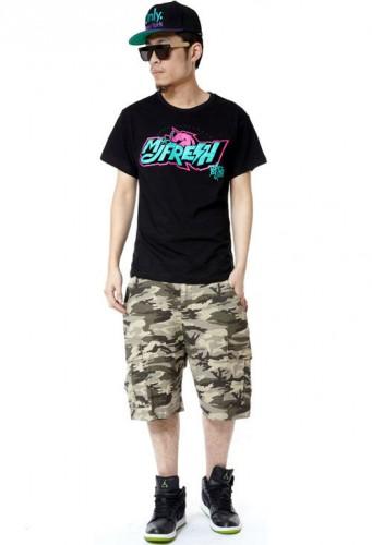 MJ116 MJF 頑童 同款 116手勢 限量粉紅馬 短袖T恤