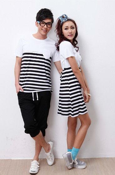 2013夏裝新款 純棉短袖T恤 修身打底衫半袖情侶裝